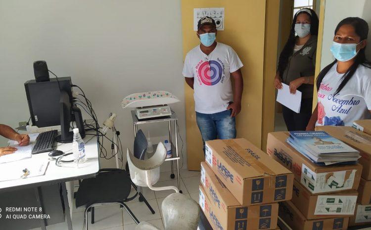 Famílias de Muquém recebem produto para purificação caseira da água
