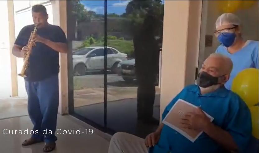 Pacientes contaminados por Covid de Japonvar e Montes Claros recebem alta do Hospital São Sebastião