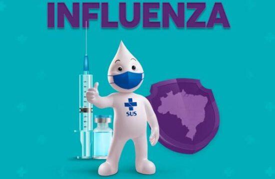 Saúde inicia campanha de vacinação contra gripe em Mirabela