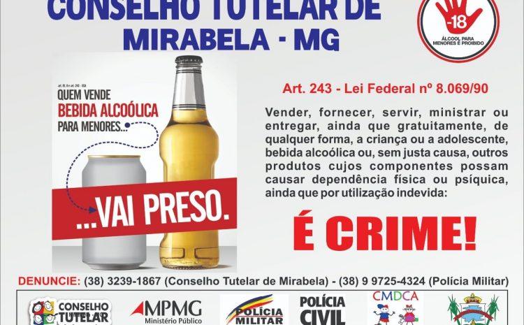 Vender bebida alcoólica para crianças e adolescentes é crime