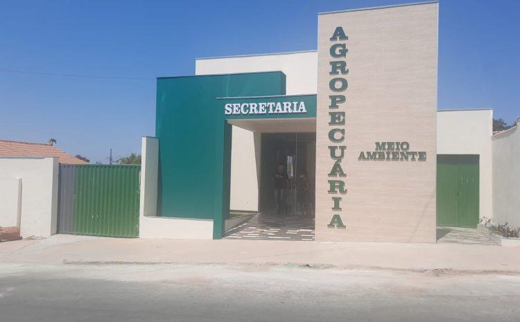 Prefeitura implanta Secretaria de Agropecuária e Meio Ambiente